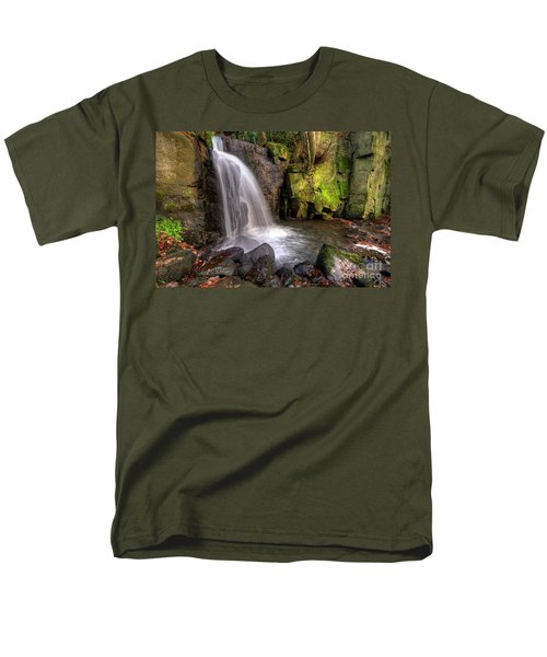 Men's T-Shirt  (Regular Fit) featuring the photograph Lumsdale Falls 3.0 by Yhun Suarez