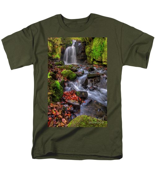 Men's T-Shirt  (Regular Fit) featuring the photograph Lumsdale Falls 4.0 by Yhun Suarez