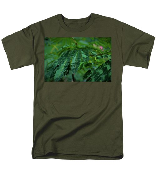 Lush Foliage Men's T-Shirt  (Regular Fit) by Stefanie Silva