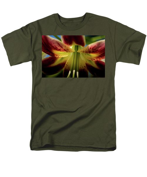 Men's T-Shirt  (Regular Fit) featuring the photograph Macro Flower by Jay Stockhaus