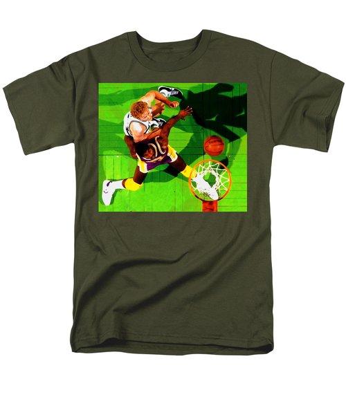 Magic And Bird Men's T-Shirt  (Regular Fit)