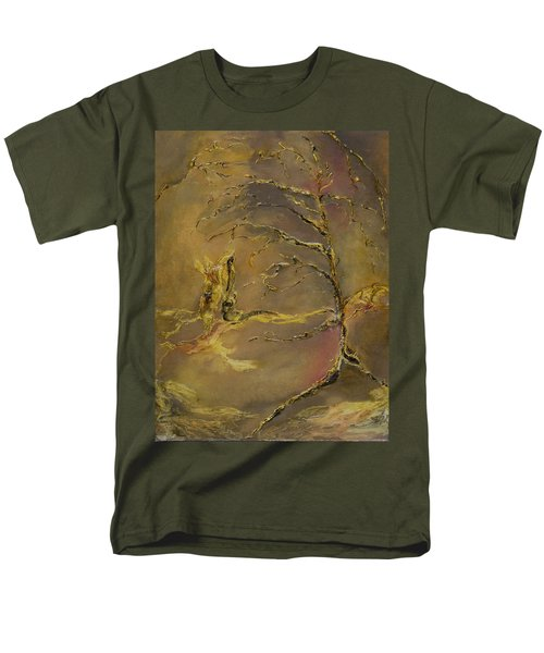 Men's T-Shirt  (Regular Fit) featuring the mixed media Magic by Nadine Dennis