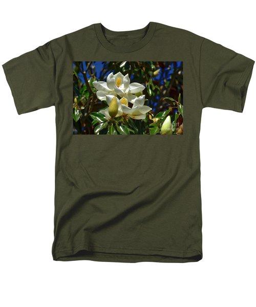 Magnolia Blossoms Men's T-Shirt  (Regular Fit)