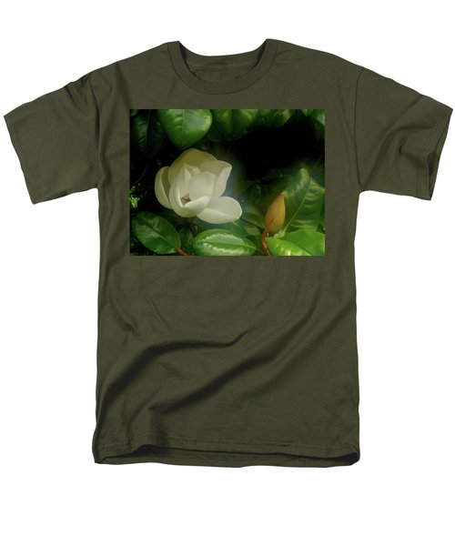 Magnolia Men's T-Shirt  (Regular Fit) by Evelyn Tambour