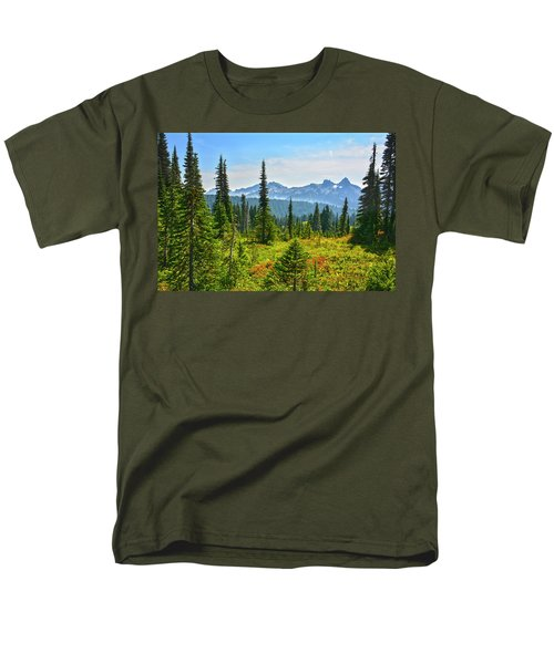 Majestic Meadows Men's T-Shirt  (Regular Fit) by Angelo Marcialis
