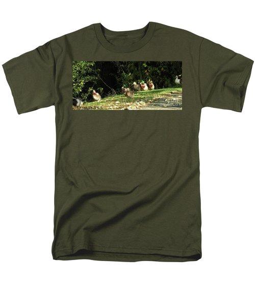 Mallards Walk Men's T-Shirt  (Regular Fit) by Kim Tran