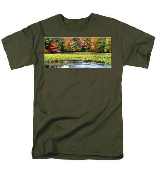 Many Colors Of Autumn Men's T-Shirt  (Regular Fit) by Mikki Cucuzzo