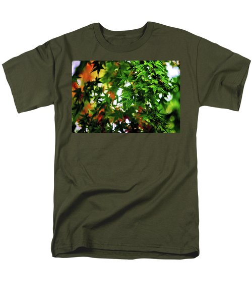 Maple In The Mist Men's T-Shirt  (Regular Fit) by Mark Lucey