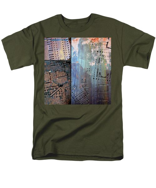 Maps #9 Men's T-Shirt  (Regular Fit) by Joan Ladendorf