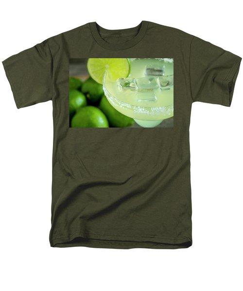 Men's T-Shirt  (Regular Fit) featuring the photograph Margaritas Anyone by Teri Virbickis