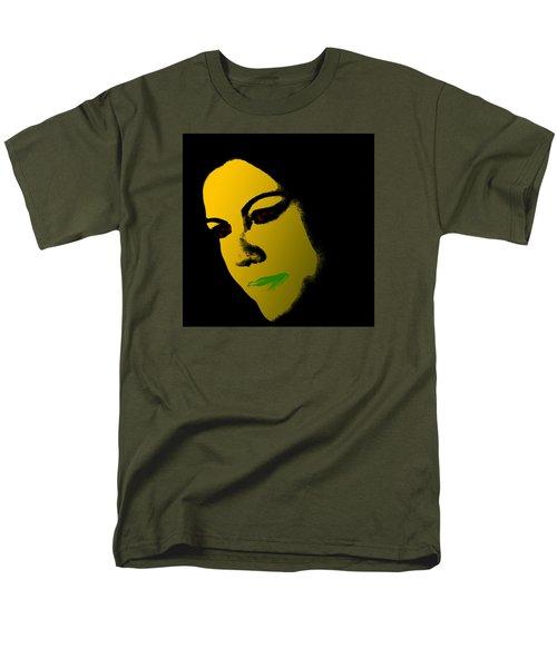 Maria Dolores De Cospedal Men's T-Shirt  (Regular Fit) by Emme Pons