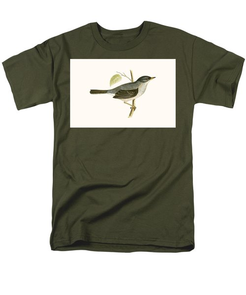 Marmora's Warbler Men's T-Shirt  (Regular Fit) by English School