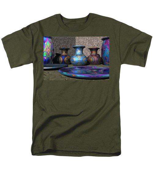 Marrakesh Open Air Market Men's T-Shirt  (Regular Fit) by Lyle Hatch
