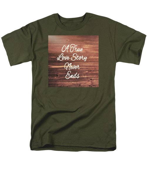 Marriage Motto Men's T-Shirt  (Regular Fit) by JAMART Photography