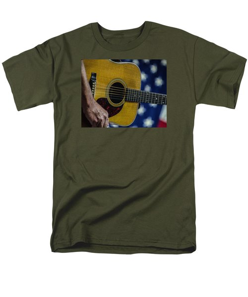 Martin Guitar 1 Men's T-Shirt  (Regular Fit) by Jim Mathis