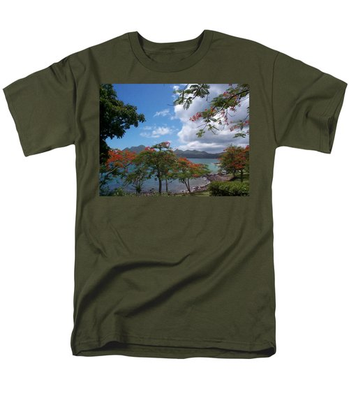 Men's T-Shirt  (Regular Fit) featuring the photograph Martinique by Mary-Lee Sanders