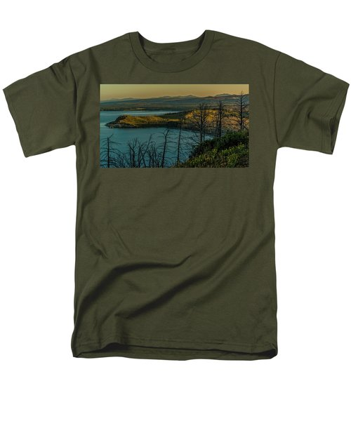Mary Bay At Dawn Men's T-Shirt  (Regular Fit) by Yeates Photography