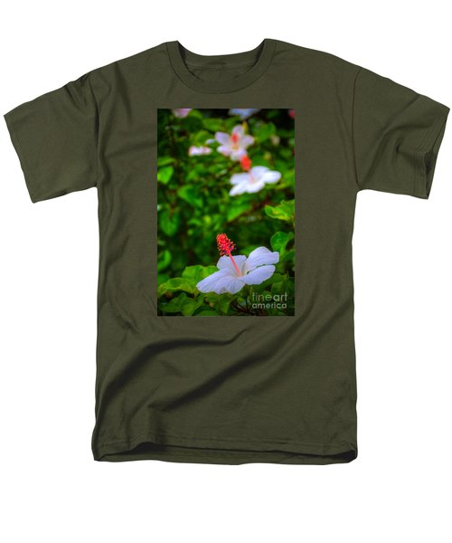 Men's T-Shirt  (Regular Fit) featuring the photograph Maui Hibiscus by Kelly Wade