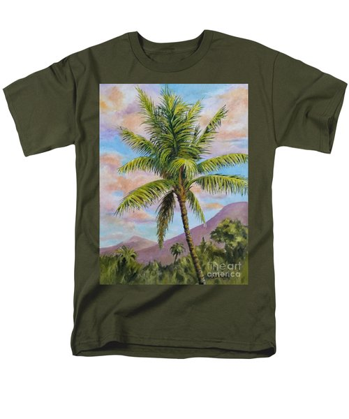 Maui Palm Men's T-Shirt  (Regular Fit) by William Reed