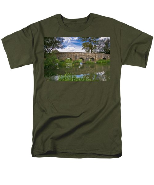 Medieval Bridge Men's T-Shirt  (Regular Fit) by Scott Carruthers