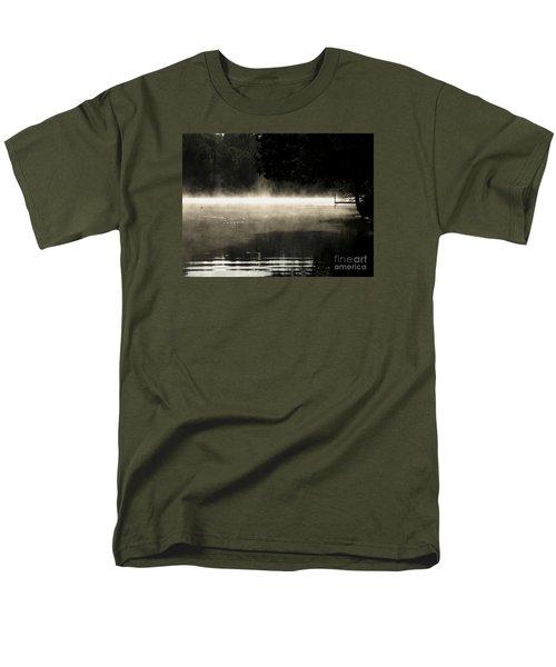 Meditation Morning Men's T-Shirt  (Regular Fit) by France Laliberte