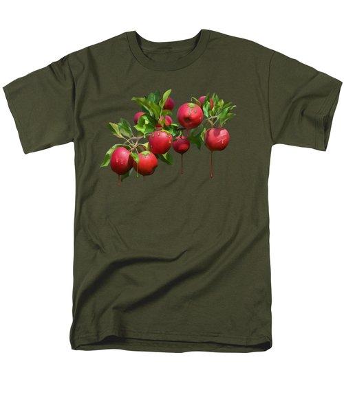 Melting Apples Men's T-Shirt  (Regular Fit) by Ivana Westin