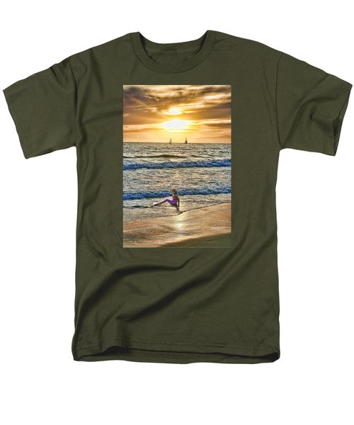 Mermaid Of Venice Men's T-Shirt  (Regular Fit) by Michael Cleere