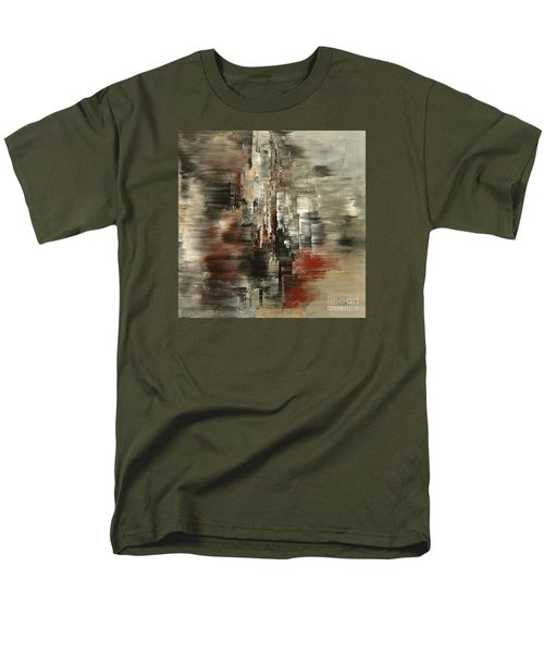 Men's T-Shirt  (Regular Fit) featuring the painting Metals And Magnetism by Tatiana Iliina