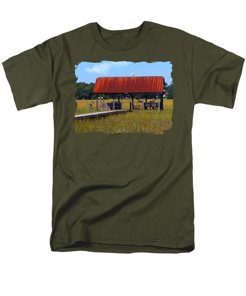 Midday Island Creek View Men's T-Shirt  (Regular Fit) by Deborah Smith