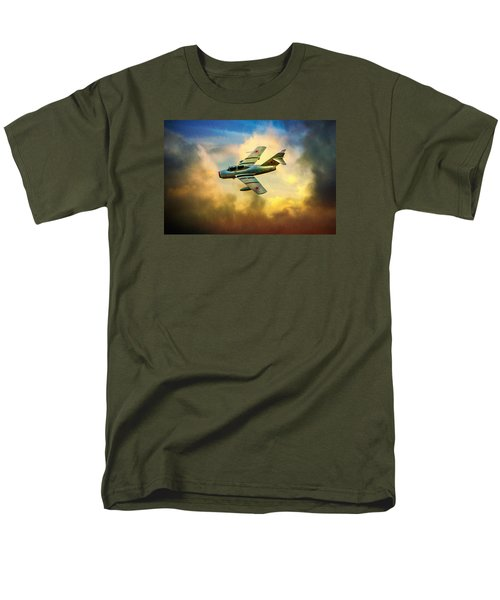 Men's T-Shirt  (Regular Fit) featuring the photograph Mikoyan-gurevich Mig-15uti by Chris Lord