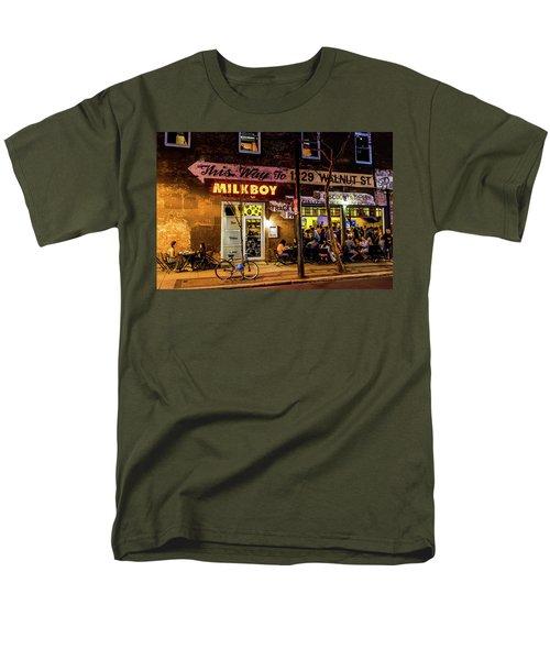 Men's T-Shirt  (Regular Fit) featuring the photograph Milkboy - 1033 by David Sutton