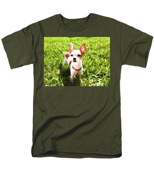 Mini Dog Men's T-Shirt  (Regular Fit) by Josy Cue