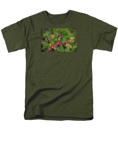 Men's T-Shirt  (Regular Fit) featuring the photograph Miniature Chandeliers by Adria Trail