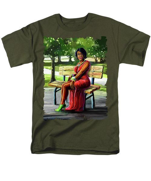 Mismatched And Happy Men's T-Shirt  (Regular Fit) by Anthony Mwangi