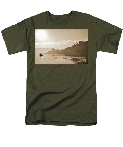 Misty Morning 2 Men's T-Shirt  (Regular Fit) by Kiran Joshi