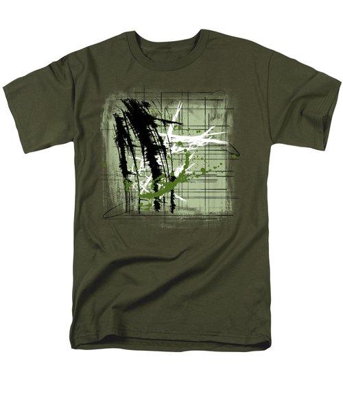 Modern Green Men's T-Shirt  (Regular Fit) by Melissa Smith