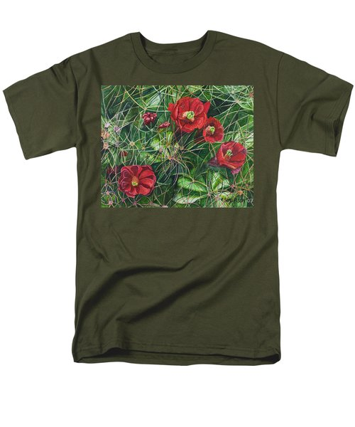 Mohave Mound Cactus Men's T-Shirt  (Regular Fit) by Eric Samuelson