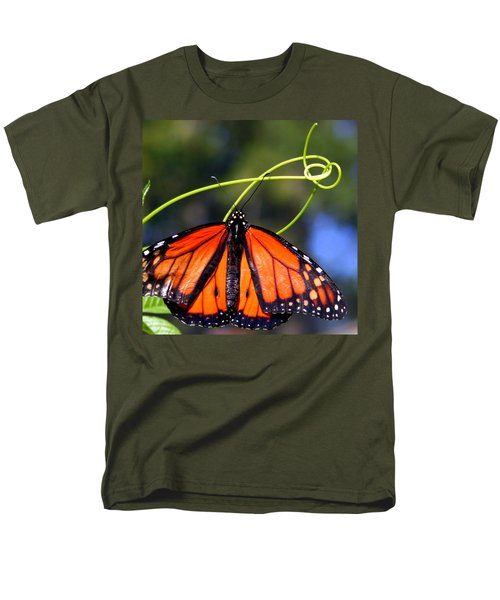 Monarch Butterfly Men's T-Shirt  (Regular Fit) by Laurel Talabere