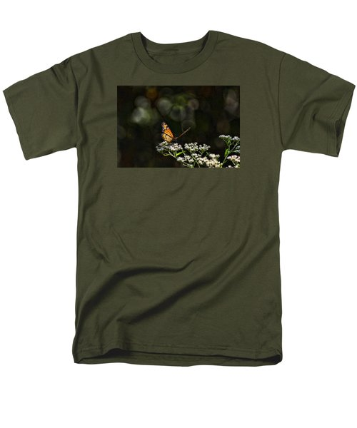 Men's T-Shirt  (Regular Fit) featuring the photograph Monarch Butterfly by Rick Friedle