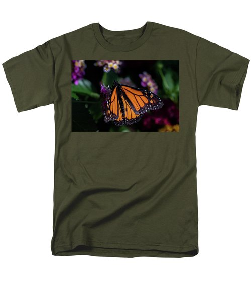 Men's T-Shirt  (Regular Fit) featuring the photograph Monarch by Jay Stockhaus