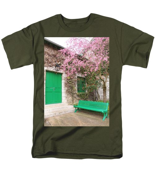 Monet's Bench Men's T-Shirt  (Regular Fit) by Catherine Alfidi