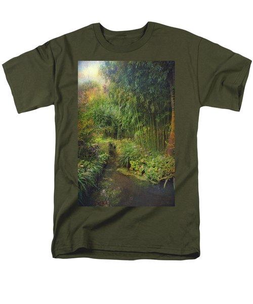 Monets Paradise Men's T-Shirt  (Regular Fit) by John Rivera