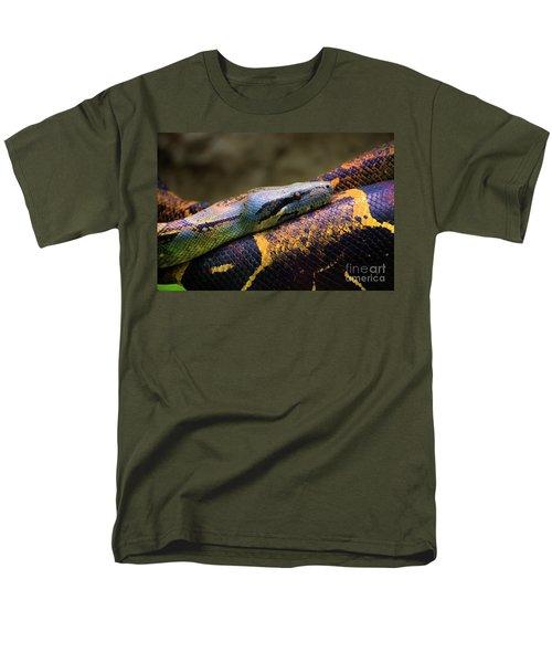 Don't Wear This Boa Men's T-Shirt  (Regular Fit) by Al Bourassa