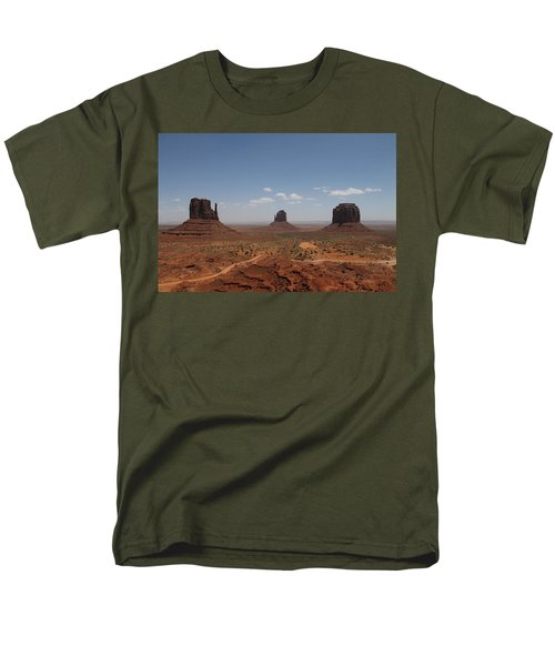 Monument Valley Navajo Park Men's T-Shirt  (Regular Fit) by Christopher Kirby