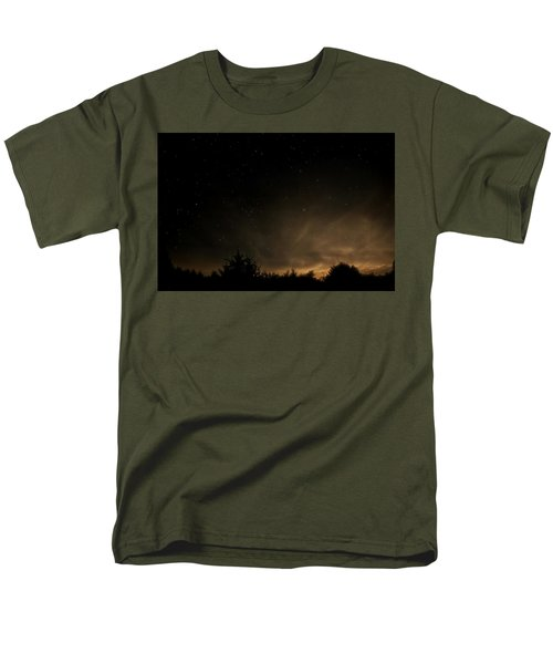 Men's T-Shirt  (Regular Fit) featuring the photograph Moon Rise by Katie Wing Vigil