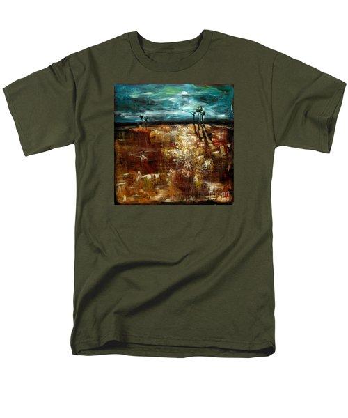 Moonlight Over The Marsh Men's T-Shirt  (Regular Fit)