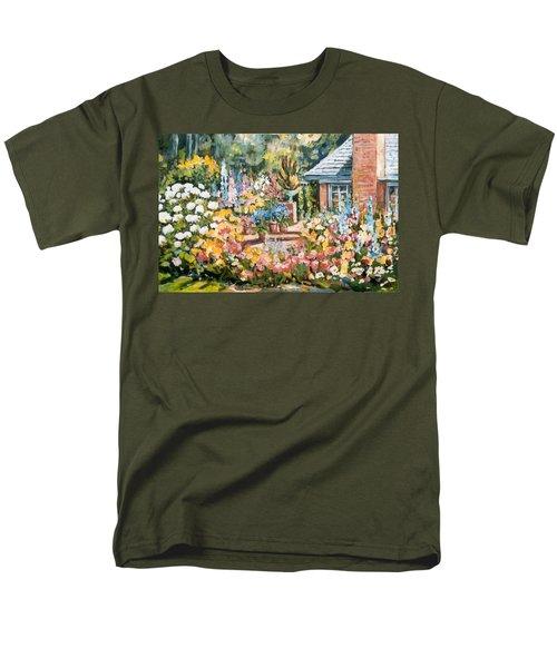 Moore's Garden Men's T-Shirt  (Regular Fit) by Alexandra Maria Ethlyn Cheshire