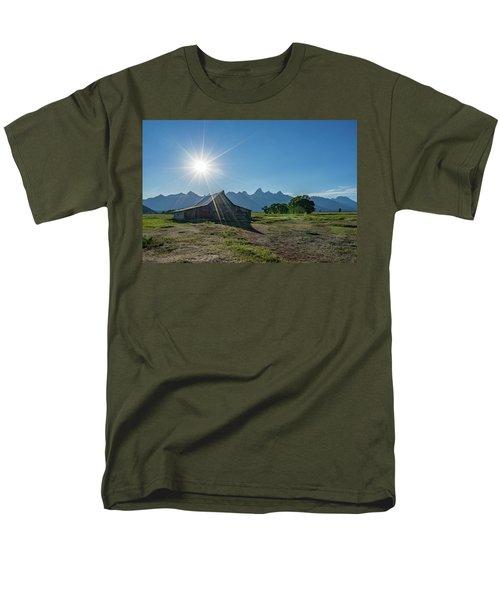 Mormon Row Men's T-Shirt  (Regular Fit) by Alpha Wanderlust