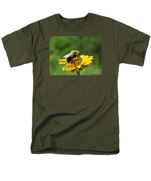 Morning Bee Men's T-Shirt  (Regular Fit) by Susan  Dimitrakopoulos