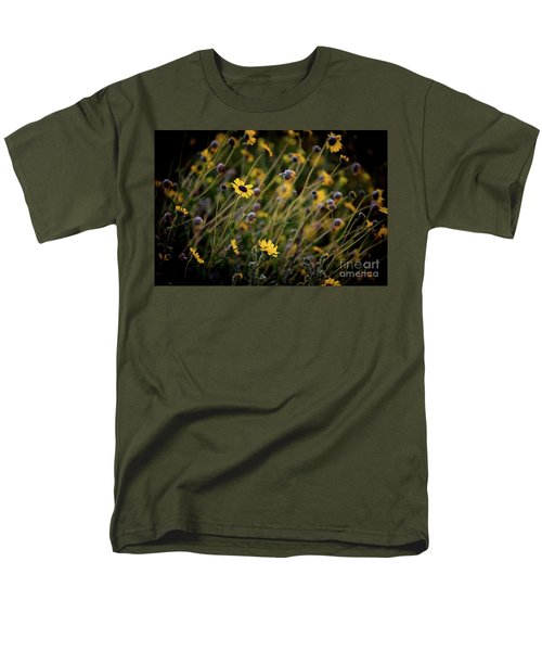 Men's T-Shirt  (Regular Fit) featuring the photograph Morning Flowers by Kelly Wade
